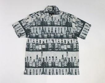 91dee4a8 Party shirt Button up shirt Men's Size M