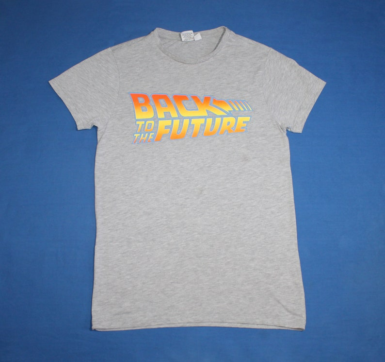 Back to the Future shirt Men/'s Size S