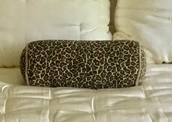 Fabulous Bolster Pillow Thomasville Leopard Decorator Pillows Bed Pillow Sofa Pillow Ocoug Best Dining Table And Chair Ideas Images Ocougorg