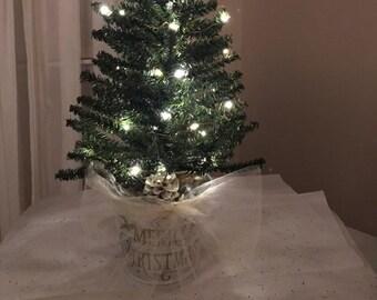 Mini Christmas Tree Etsy