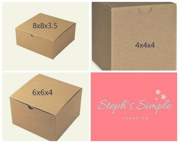 Gold Large Linen Foil Gift Box 8x8x3.5|Birthday Gift Box|Bridesmaid Gift Box|Party Gift Box|Personalized Gift Box|Wedding Gift Box|Gift Box