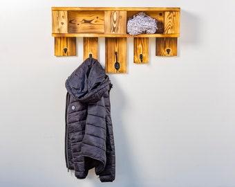 Wardrobe made of pallets