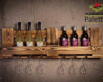 Wine rack made of pallets, VinoLino Senior