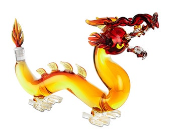 Dragon Whiskey and Wine Decanter (Holds 600ml)