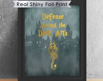 Harry Potter Deathly Hallows Inspired Poster Printable Etsy