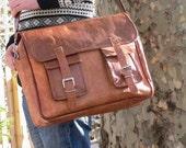Men 39 s leather messenger leather messenger bag, leather shoulder bag, leather computer bag, leather satchel, leather satchel
