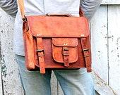 Women's Leather Crossbody Handbag Vintage Style Natural Leather Bag, Shoulder Bag, Leather Crossbody Bag, Men's Leather Bag
