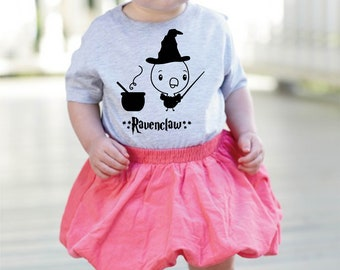 Harry Potter Inspired, Toddler Shirt,  Hogwarts, Ravenclaw Themed, Little Kids, Toddler Gift, Graphic Tee, FREE Shipping Canada and USA