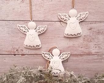 Angel Shabby-Style Christmas Tree Decoration