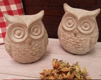 Owl Concrete * Decoration for home and garden