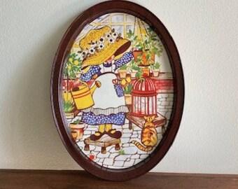 Vintage Holly Hobby Tin Tray