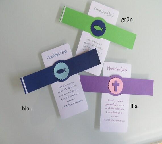 Einladungskarten zur Kommunion Motiv Blumen und Kelch