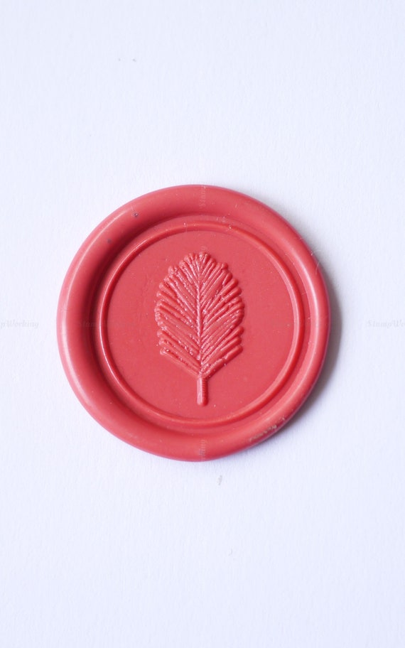 Floral Wax Seal Stamp Personal Wax Sealing Stamp Leaf Sealing Wax Stamp Package Decoration Wax Seals Stamp Letter Wax Seal Kit