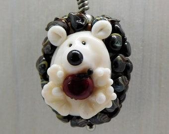 Chain Pendant - Hedgehog