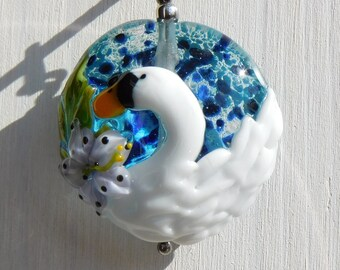 Chain Pendant - Swan