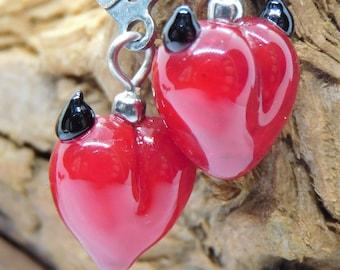 Devil's Heart - Earrings