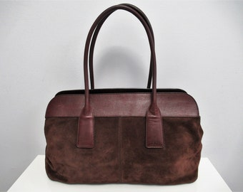 467b70c39c Tod's suede leather bag