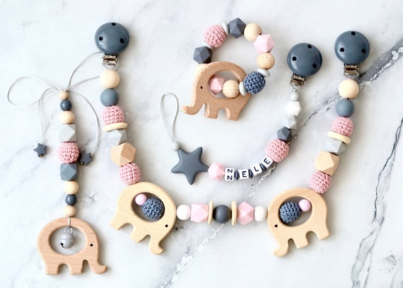 Pacifier Chain+Beissring