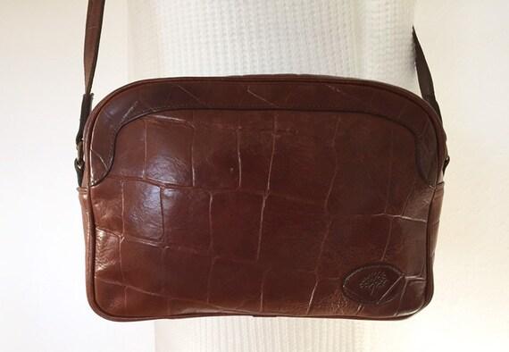 Mulberry vintage bag bag leather 80s RiRi zipper c