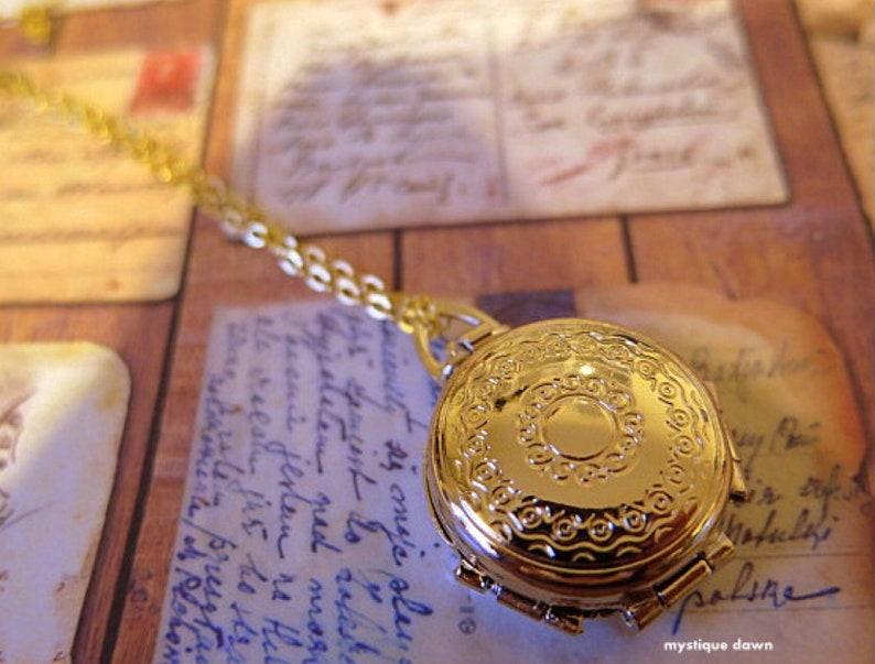 Four Way Locket Necklace Locket Necklace Memory Locket Photo Locket Necklace Multi Photo Locket Four Way Locket Family Album Locket