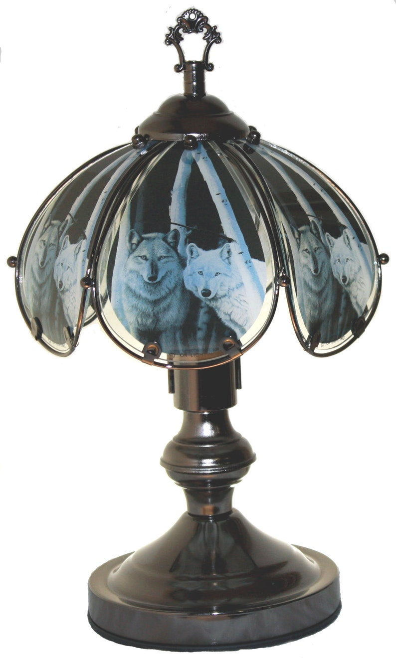 Small Wolf Touch Lamp 603cw02