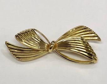 14KY Tiffany & Co. Bow Pin