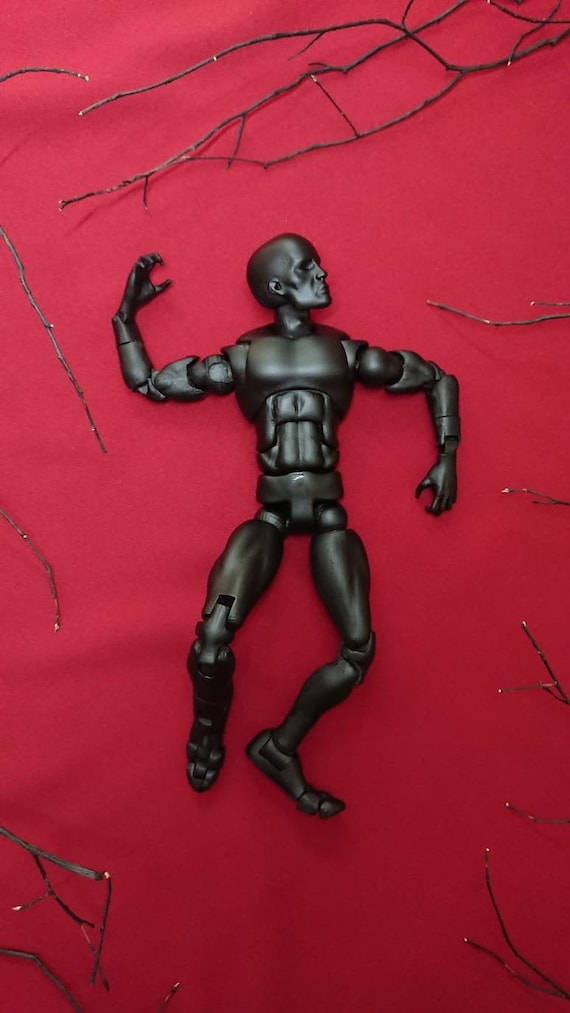 Action Figures Model, Painting Props, Human Mannequin 2 0 Body Kun Doll  Body-Chan Man ideal for drawing, sketching, painting