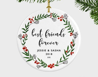 Bff ornament | Etsy