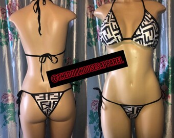1bdeacd1d34 Fendi swimsuit | Etsy
