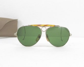 1103c5c47d Vintage RAY BAN B L USA Shooter sunglasses wit box