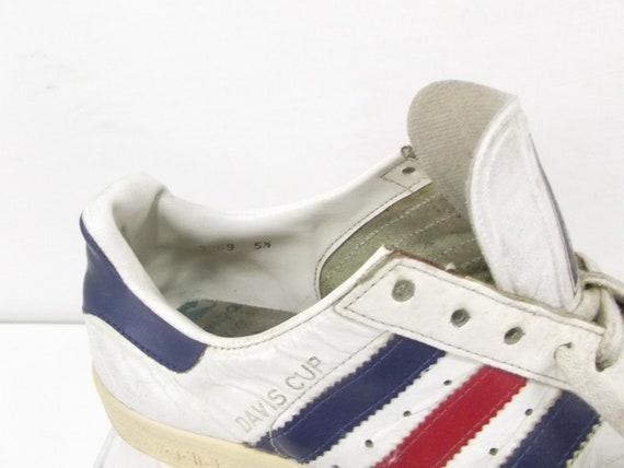 Adidas Davis cup Yugoslavia 1980's Vintage Rare size uk5,5us7eu 38