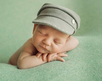 Newborn boy hat for photo sessions fa5d044d745