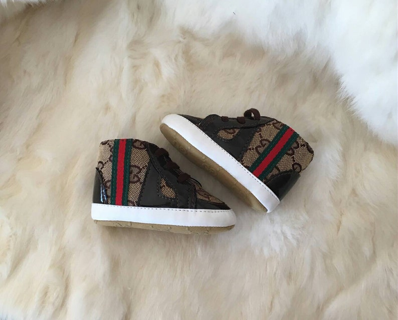 31d00f61b20 Gucci Shoes Inspired Infant Baby Sneakers GG.Baby Shoes