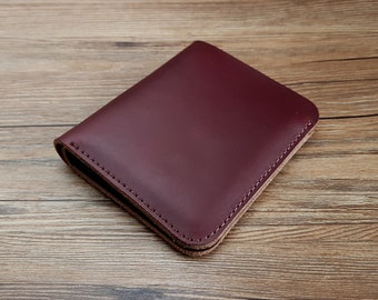 277dd5a4d0ae Portefeuille femme cuir, portefeuille rouge, porte monnaie cuir, porte  carte, maroquinerie femme, portefeuille pour elle, cadeau copine