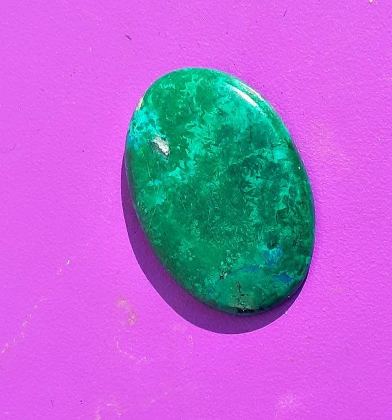 Gorgeous Chrysocolla Oval Shape Cabochon,Chrysocolla Cabochon For Jewelry Making,,38X23X5 mm,,DG-2964