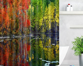 Curtains, Drapes & Valances 3d Dusk Sky Beach 80 Shower Curtain Waterproof Fiber Bathroom Windows Toilet