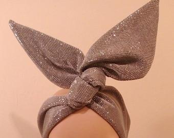 ac15e78496af0 Designer Inspired headband bandana Self Tie Gift Headwear   Etsy