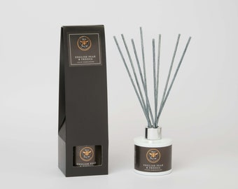 Bea Loves Luxury Jo Malone Inspired Home Diffuser: English Pear & Freesia 100ml Natural Fragrance