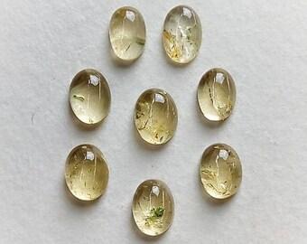 58 carats Scapolite in mica cabochon pendant natural stone India  BL42