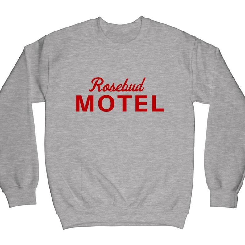 Rose Apothecary,Rosebud Motel Hoodie Ew David Crewneck Sweatshirt Schitt Creek sweater David Rose