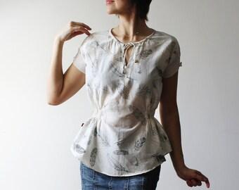 e561c2ffcd1 Heidi blouse | Etsy