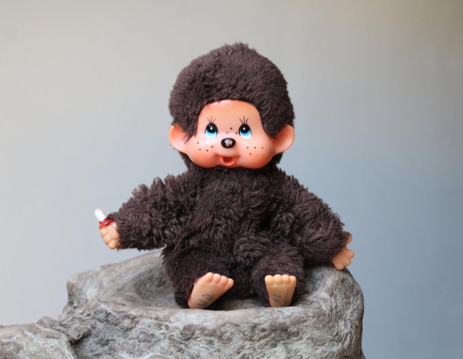 Collectible Vintage Monchhichi Doll Soft Toy Sekiguchi