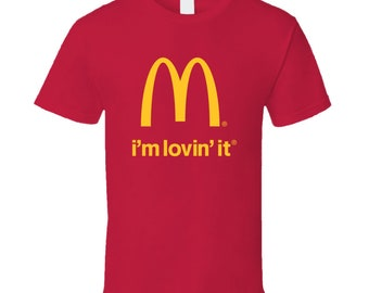 1e28e352 Mcdonalds I'm Lovin' It Fan Cool Essential Gift T Shirt