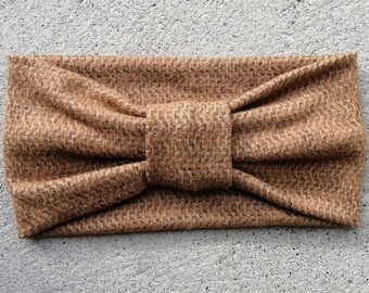 Ultra Soft and Warm Headband, fully covers your ears, so comfortable, high quality stretch fabric, fits any size head, Montreal made, gift