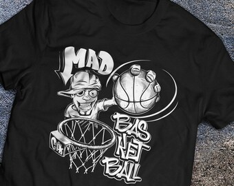 842dbe553618 More colours. Mad for Basketball Shirt