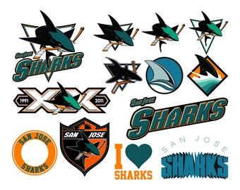 best loved 70a42 3eabd San jose sharks | Etsy