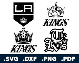 Los Angeles Kings Vinyl Sticker Decal Hockey NHL Full Color CAD Cut Car