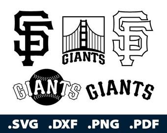 Sf Giants Svg Etsy