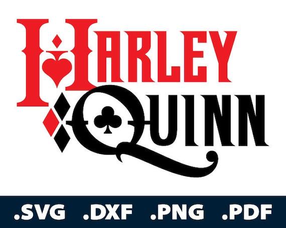 Harley Quinn Svg Files Harley Quinn Cutting Files Batman Etsy