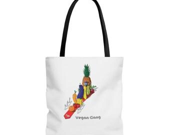 Vegan Gang | Plant Based Shopper Tote Bag | Herbivore Fashion by Veganya